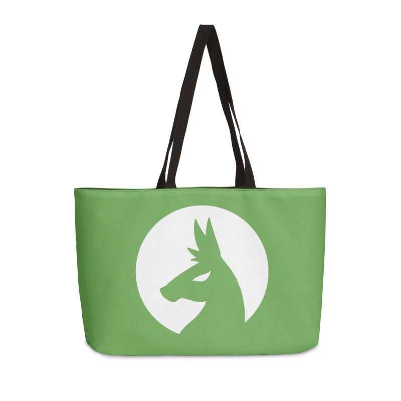 Hero Llama Logo in Weekender Bag by The Sims Official Threadless Store