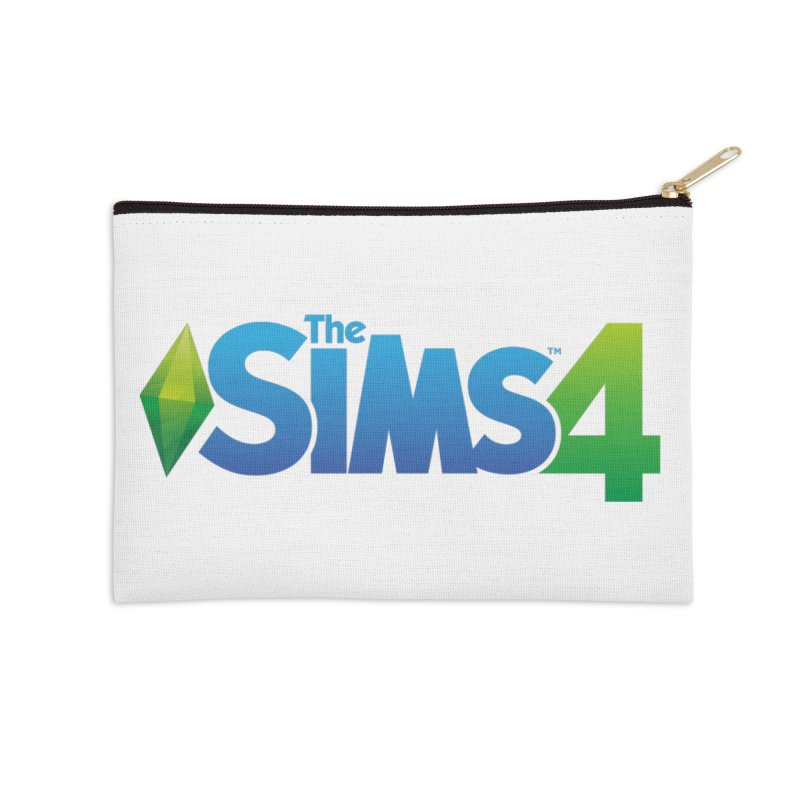 The Sims 4 Accessories Zip Pouch by The Sims Official Threadless Store