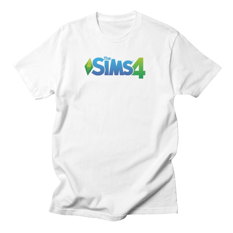 The Sims 4 in Men's Regular T-Shirt White by The Sims Official Threadless Store