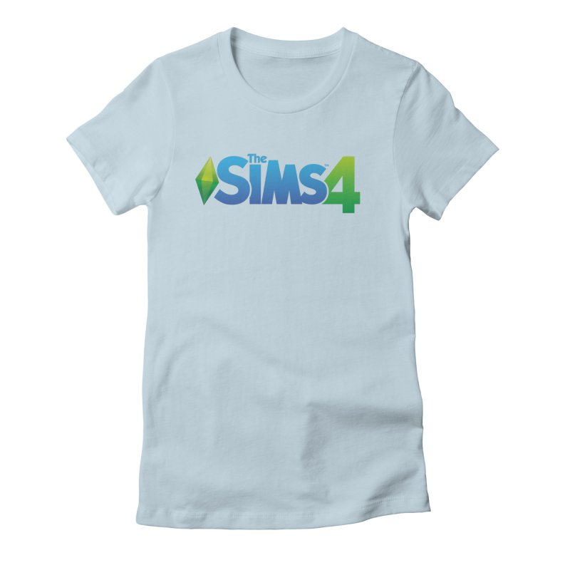 The Sims 4 Women's Fitted T-Shirt by The Sims Official Threadless Store