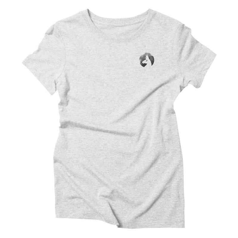 Villain Llama Logo Women's Triblend T-Shirt by The Sims Official Threadless Store