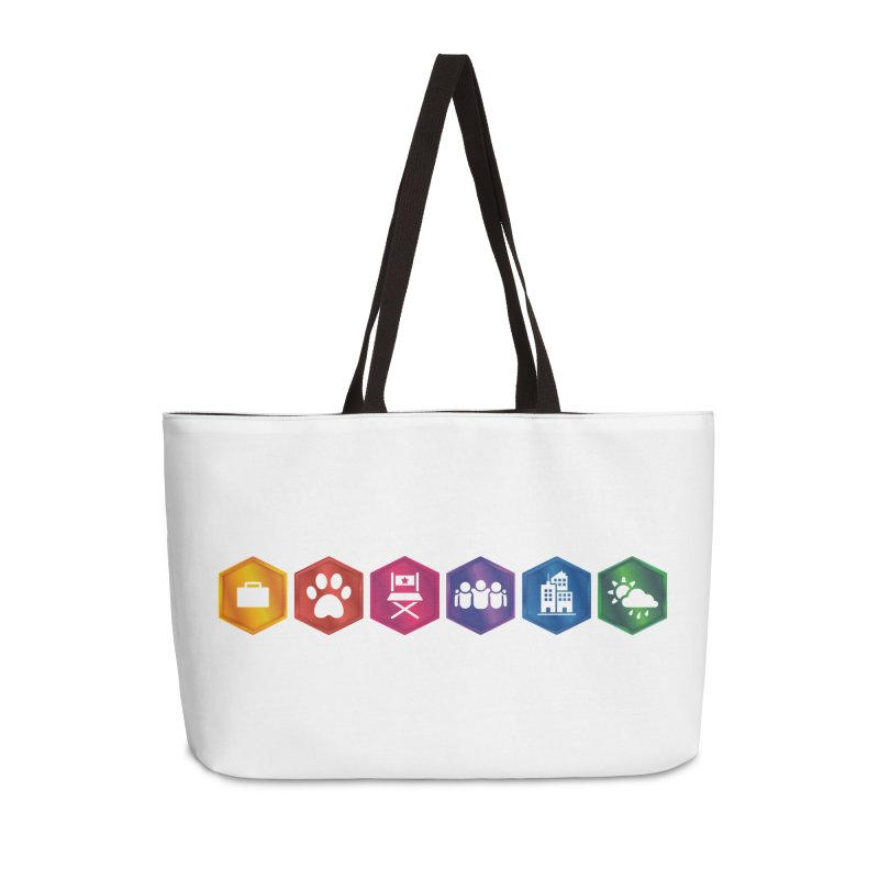 The Sims 4 Expansion Packs Accessories Weekender Bag Bag by The Sims Official Threadless Store