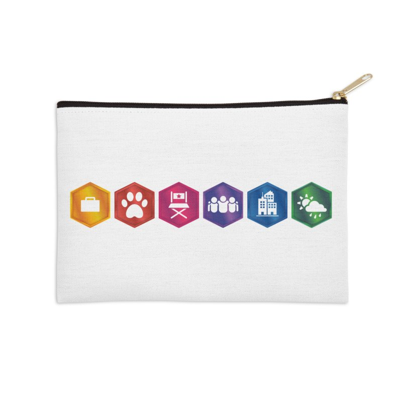 The Sims 4 Expansion Packs Accessories Zip Pouch by The Sims Official Threadless Store