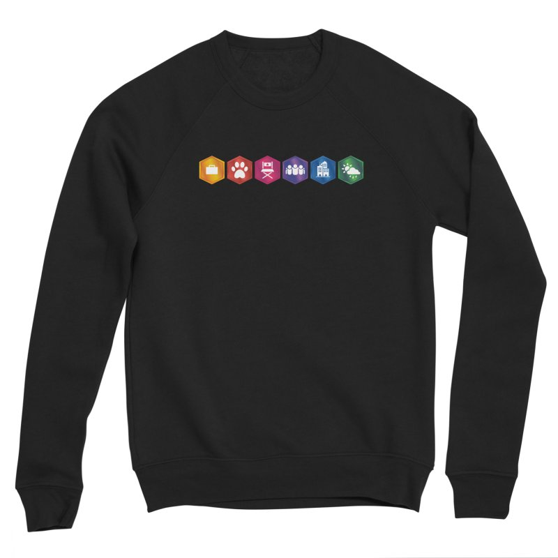 The Sims 4 Expansion Packs Men's Sponge Fleece Sweatshirt by The Sims Official Threadless Store