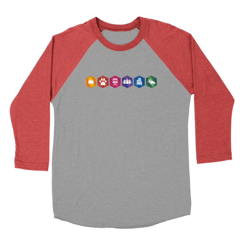 The Sims 4 Expansion Packs Women's Baseball Triblend Longsleeve T-Shirt by The Sims Official Threadless Store