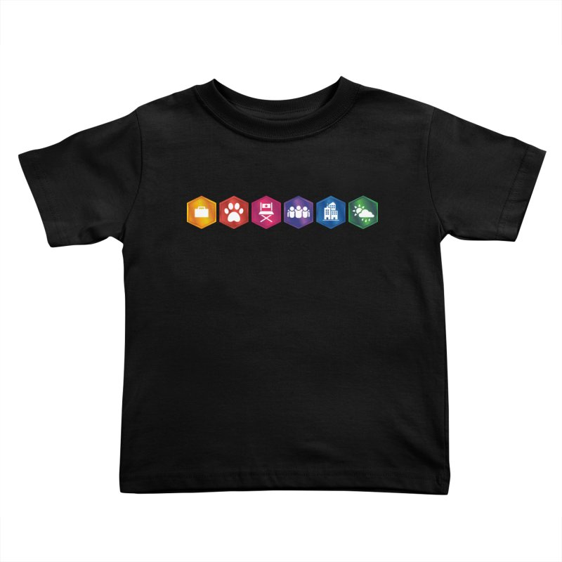 The Sims 4 Expansion Packs Kids Toddler T-Shirt by The Sims Official Threadless Store