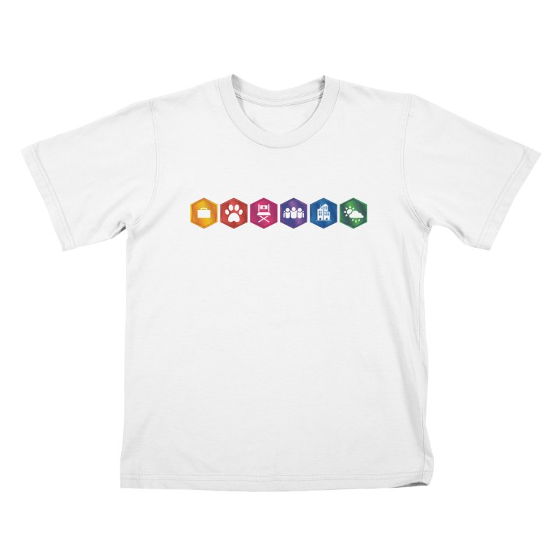 The Sims 4 Expansion Packs Kids T-Shirt by The Sims Official Threadless Store