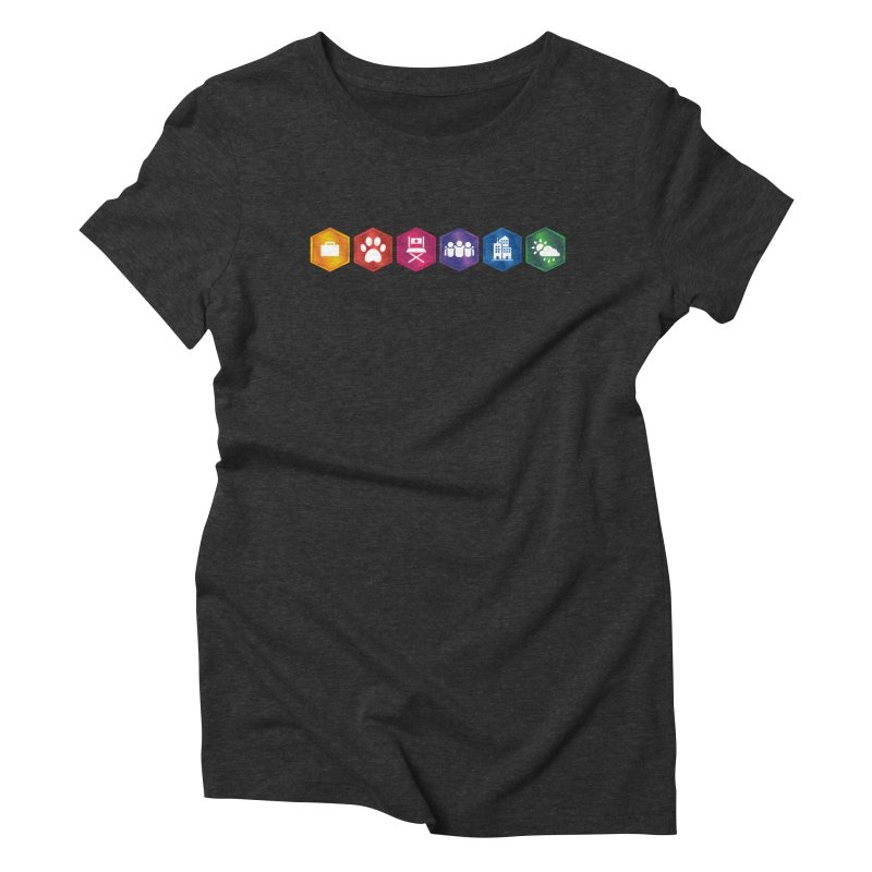 The Sims 4 Expansion Packs Women's Triblend T-Shirt by The Sims Official Threadless Store