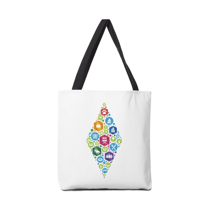The Sims 19th Anniversary Pack Plumbob Accessories Bag by The Sims Official Threadless Store