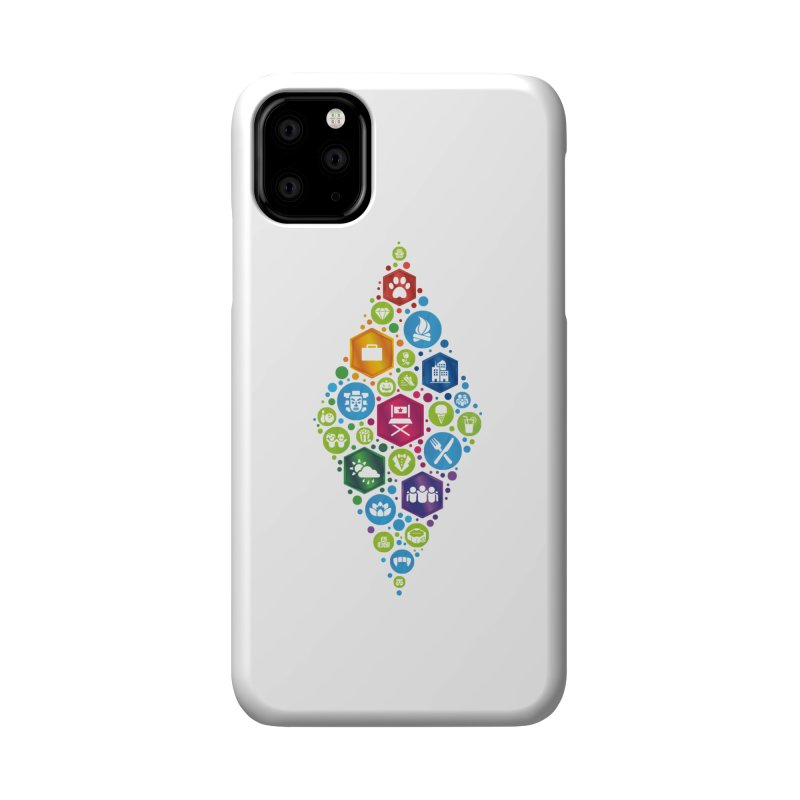 The Sims 19th Anniversary Pack Plumbob Accessories Phone Case by The Sims Official Threadless Store