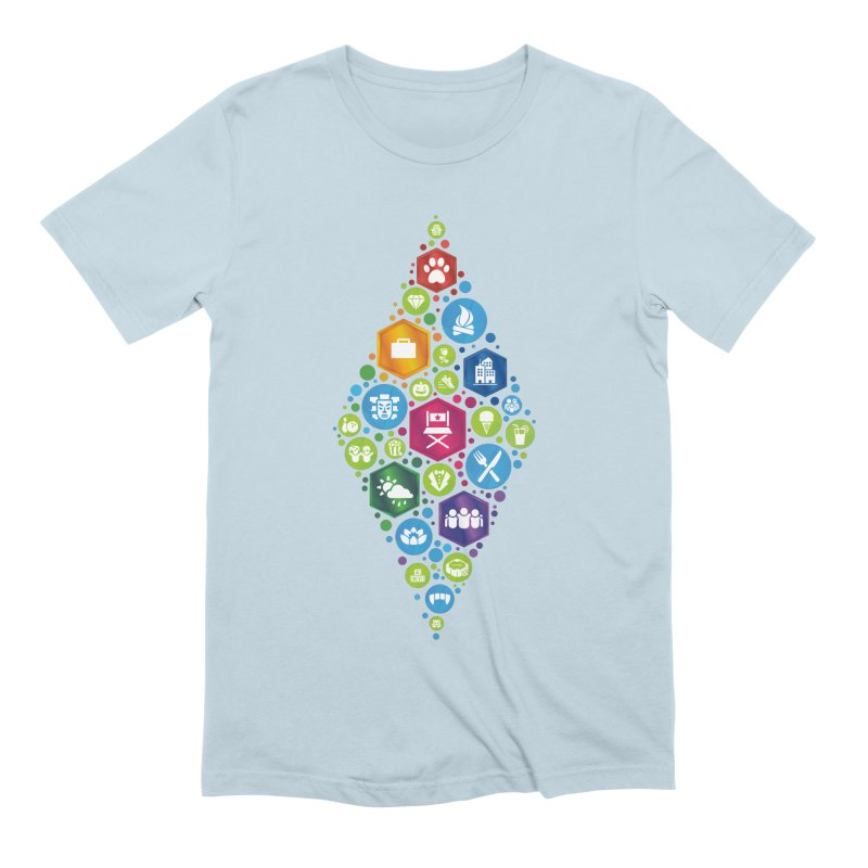 The Sims 19th Anniversary Pack Plumbob Men's Extra Soft T-Shirt by The Sims Official Threadless Store