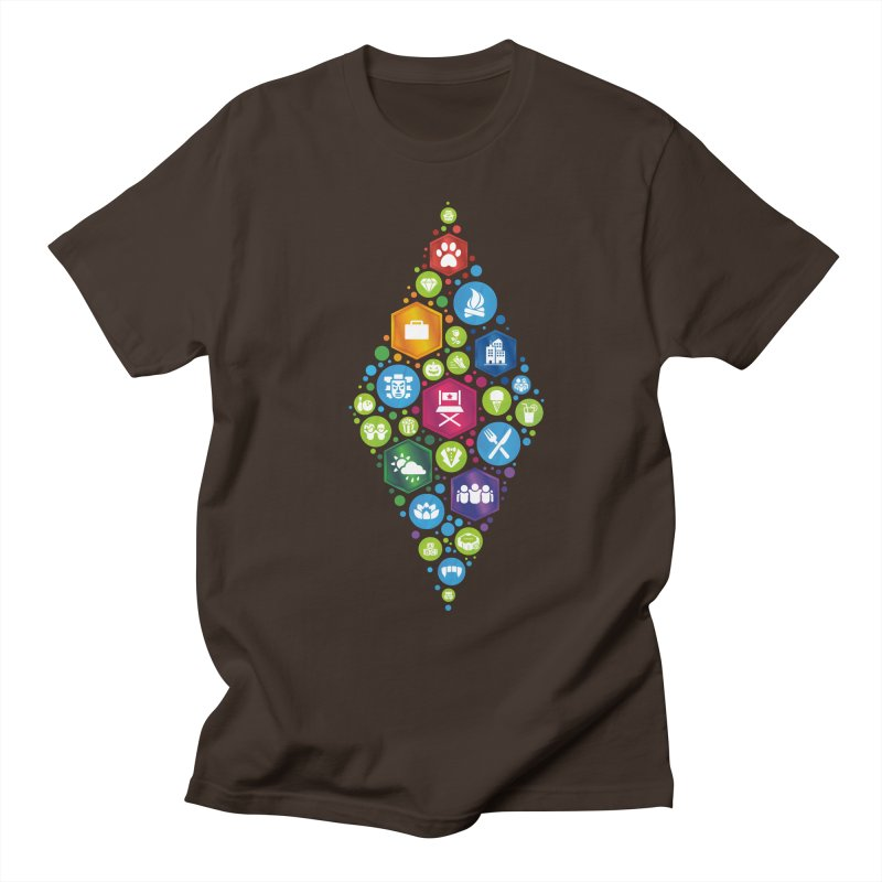 The Sims 19th Anniversary Pack Plumbob Men's Regular T-Shirt by The Sims Official Threadless Store