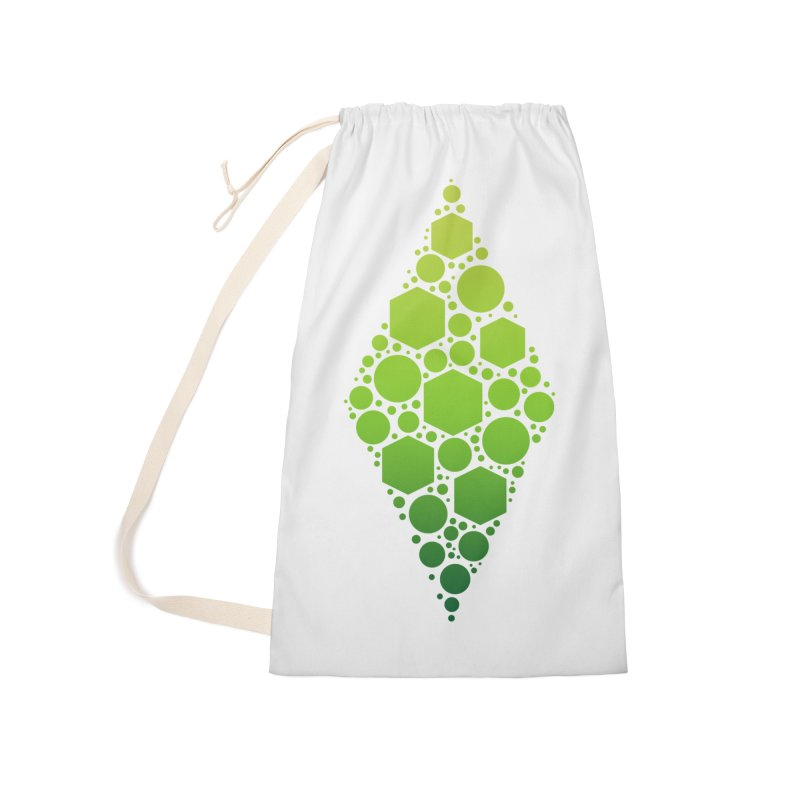 The Sims 19th Anniversary Plumbob Accessories Laundry Bag Bag by The Sims Official Threadless Store