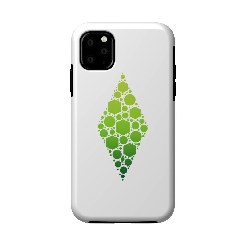 The Sims 19th Anniversary Plumbob Accessories Phone Case by The Sims Official Threadless Store