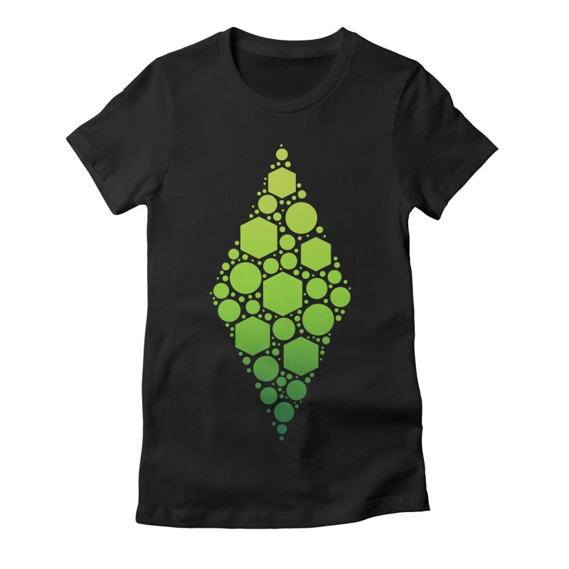 The Sims 19th Anniversary Plumbob Women's Fitted T-Shirt by The Sims Official Threadless Store