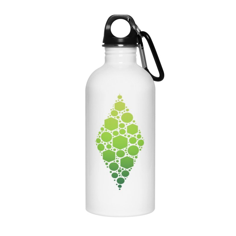 The Sims 19th Anniversary Plumbob Accessories Water Bottle by The Sims Official Threadless Store
