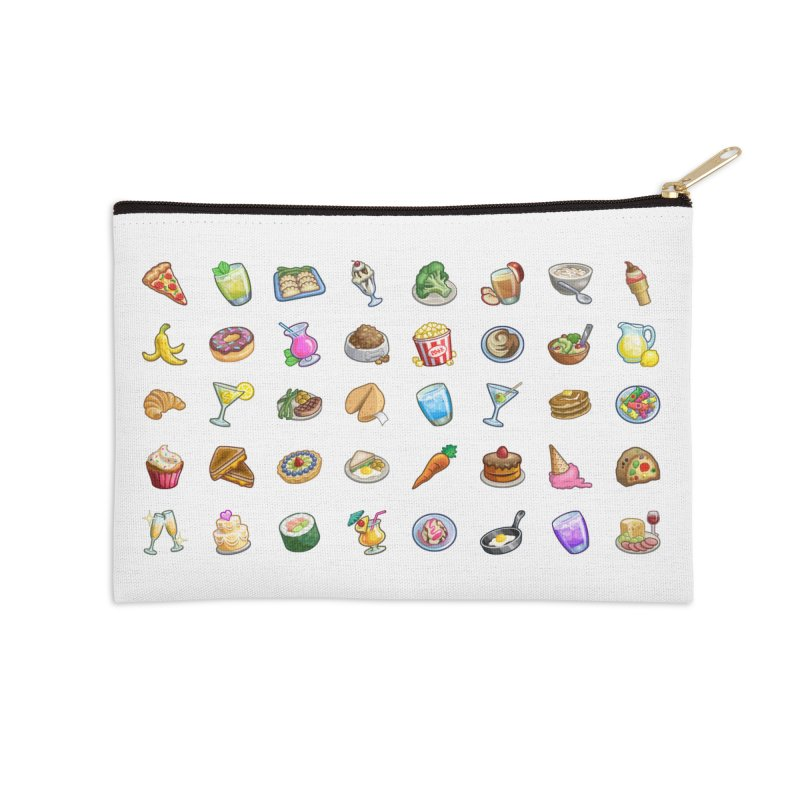 Tasty Treats Accessories Zip Pouch by The Sims Official Threadless Store