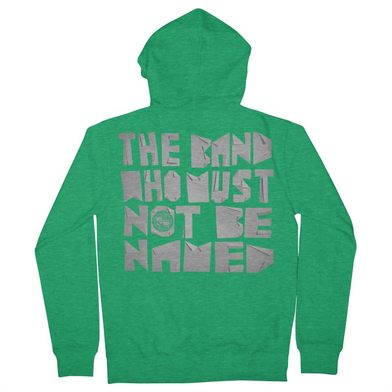 The Band Who Must Not Be Named Men's Zip-Up Hoody by The Slants