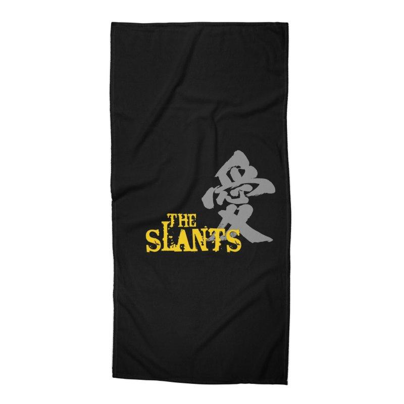"The Slants - ""Ai"" Accessories Beach Towel by The Slants"