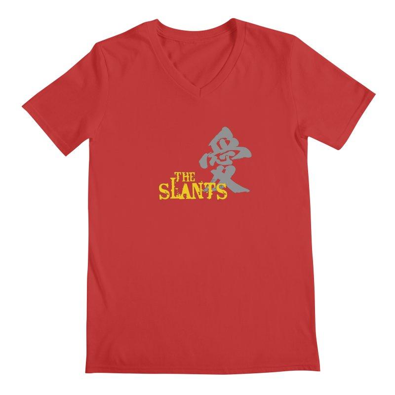 """The Slants - """"Ai"""" Men's V-Neck by The Slants"""