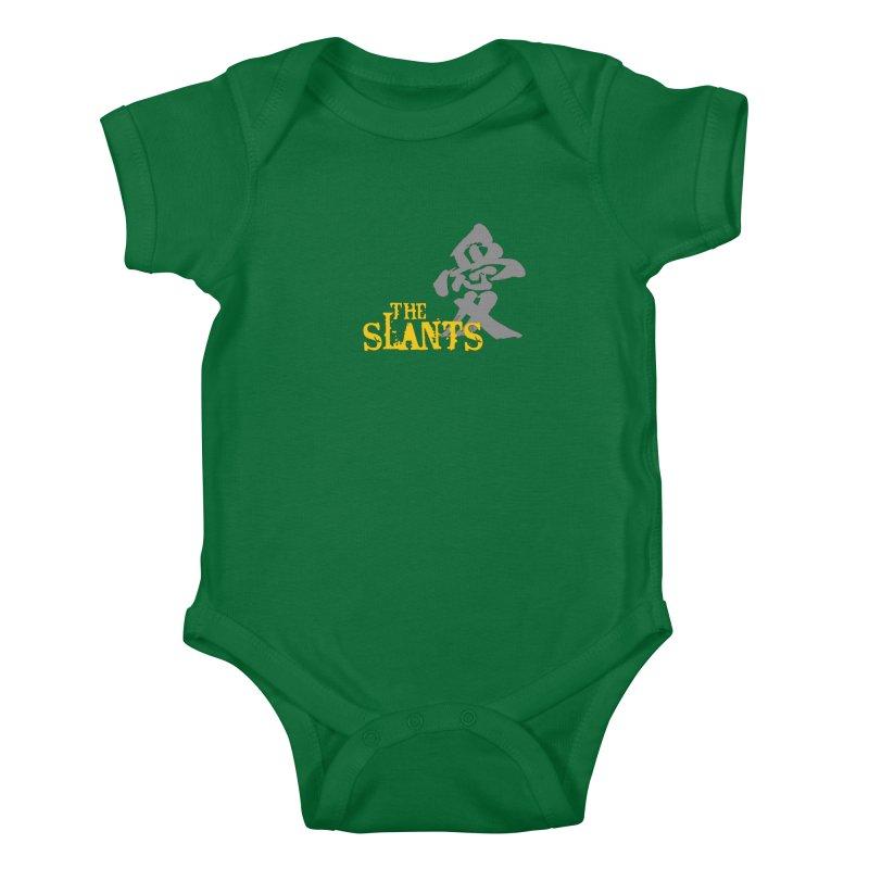 "The Slants - ""Ai"" Kids Baby Bodysuit by The Slants"