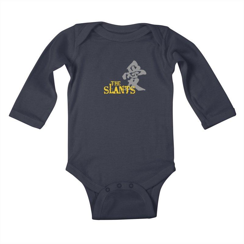 """The Slants - """"Ai"""" Kids Baby Longsleeve Bodysuit by The Slants"""