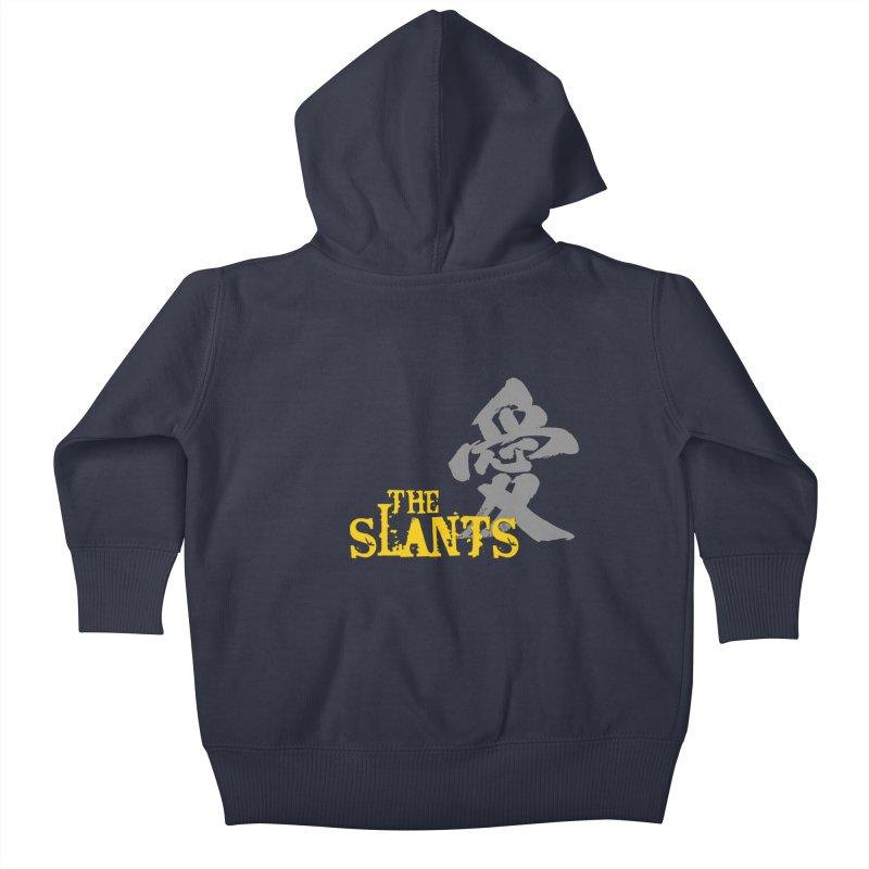 "The Slants - ""Ai"" Kids Baby Zip-Up Hoody by The Slants"