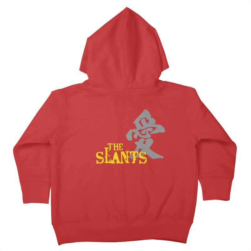 "The Slants - ""Ai"" Kids Toddler Zip-Up Hoody by The Slants"