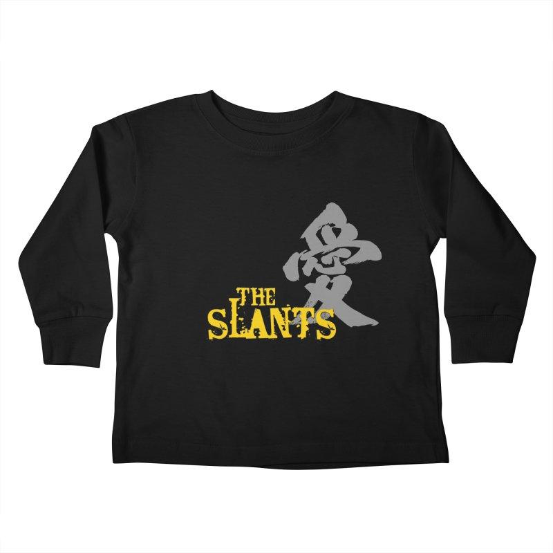 "The Slants - ""Ai"" Kids Toddler Longsleeve T-Shirt by The Slants"