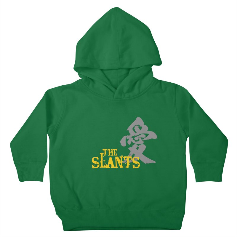 """The Slants - """"Ai"""" Kids Toddler Pullover Hoody by The Slants"""