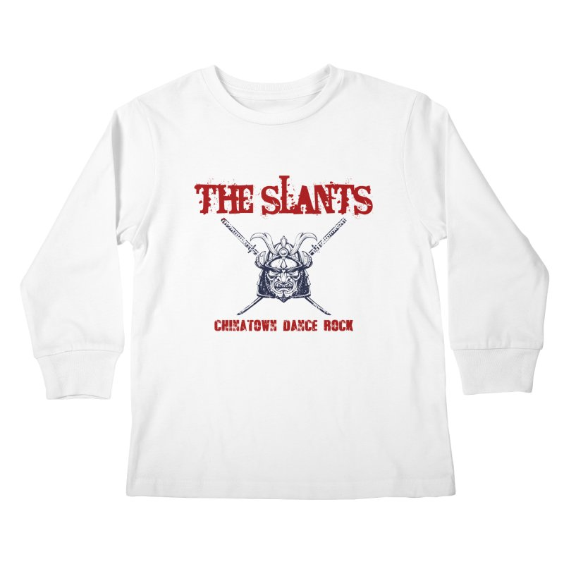 Heart of the Samurai Kids Longsleeve T-Shirt by The Slants