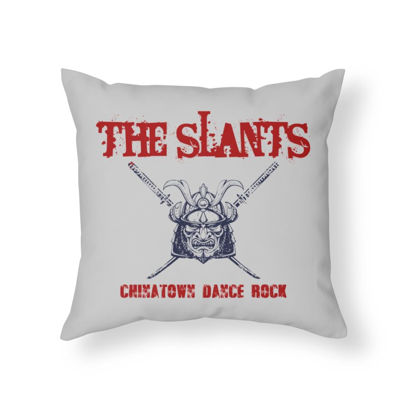Heart of the Samurai Home Throw Pillow by The Slants