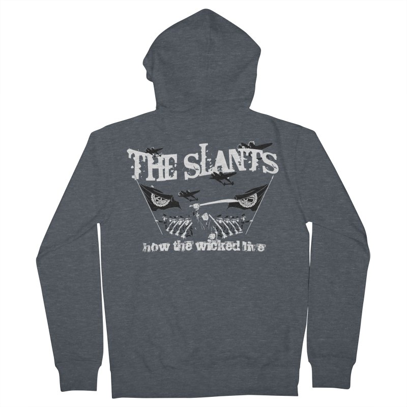 How the Wicked Live Men's Zip-Up Hoody by The Slants