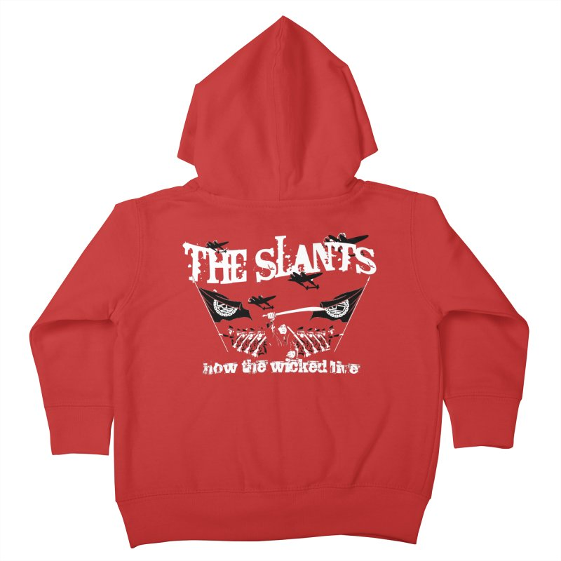 How the Wicked Live Kids Toddler Zip-Up Hoody by The Slants