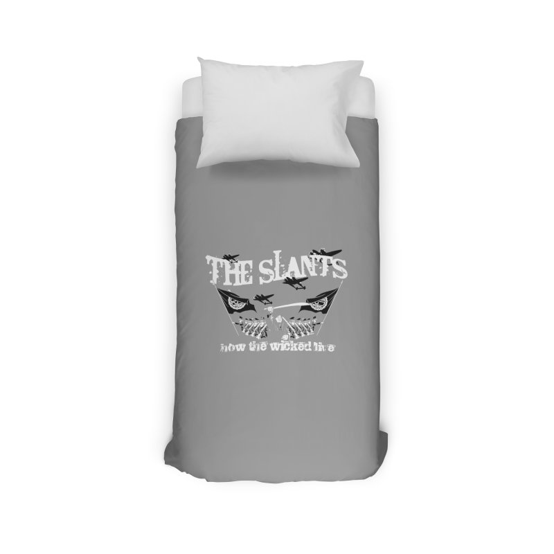 How the Wicked Live Home Duvet by The Slants