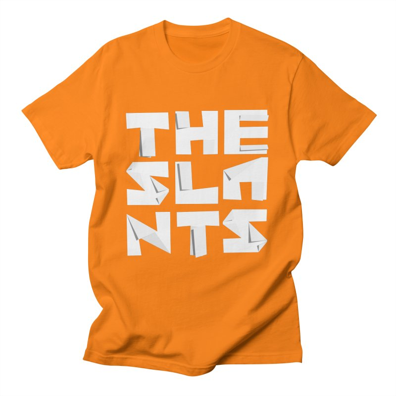 Origami Letters Men's T-Shirt by The Slants