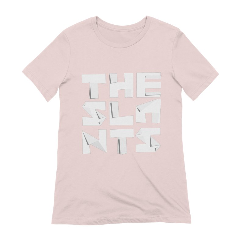 Origami Letters Women's T-Shirt by The Slants