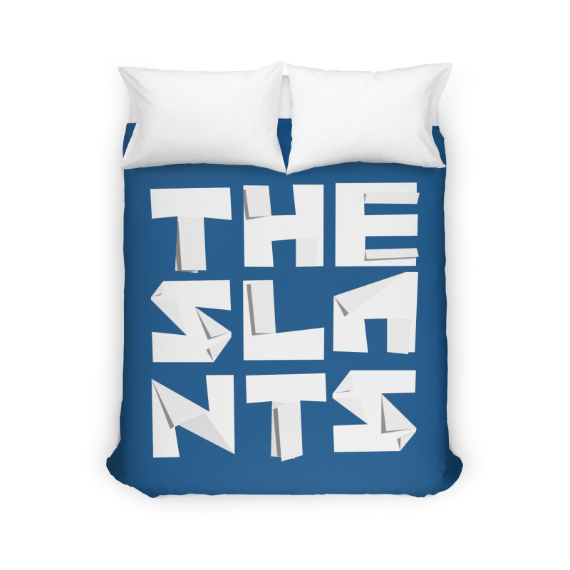 Origami Letters Home Duvet by The Slants
