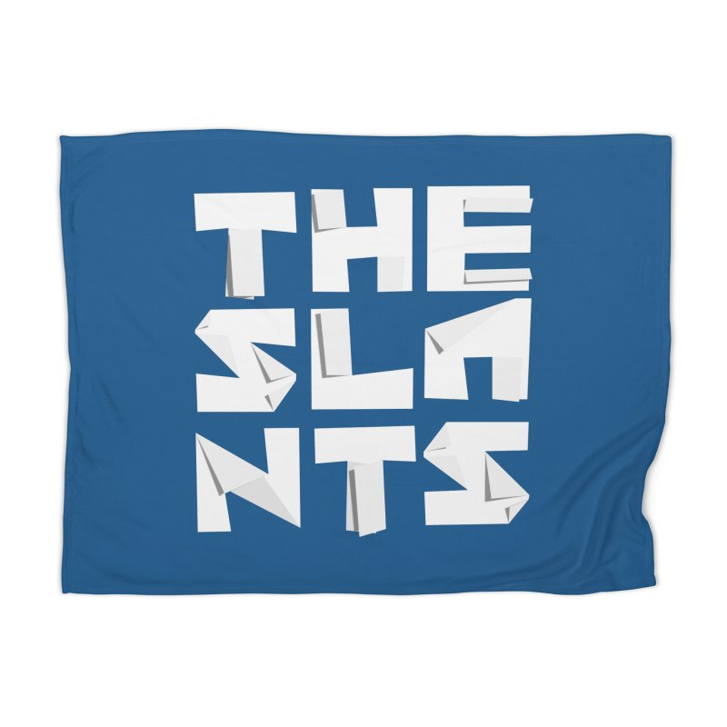 Origami Letters Home Blanket by The Slants