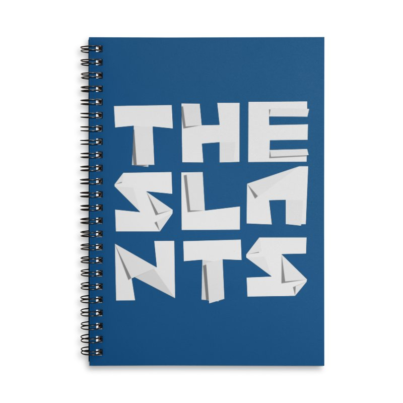 Origami Letters Accessories Notebook by The Slants