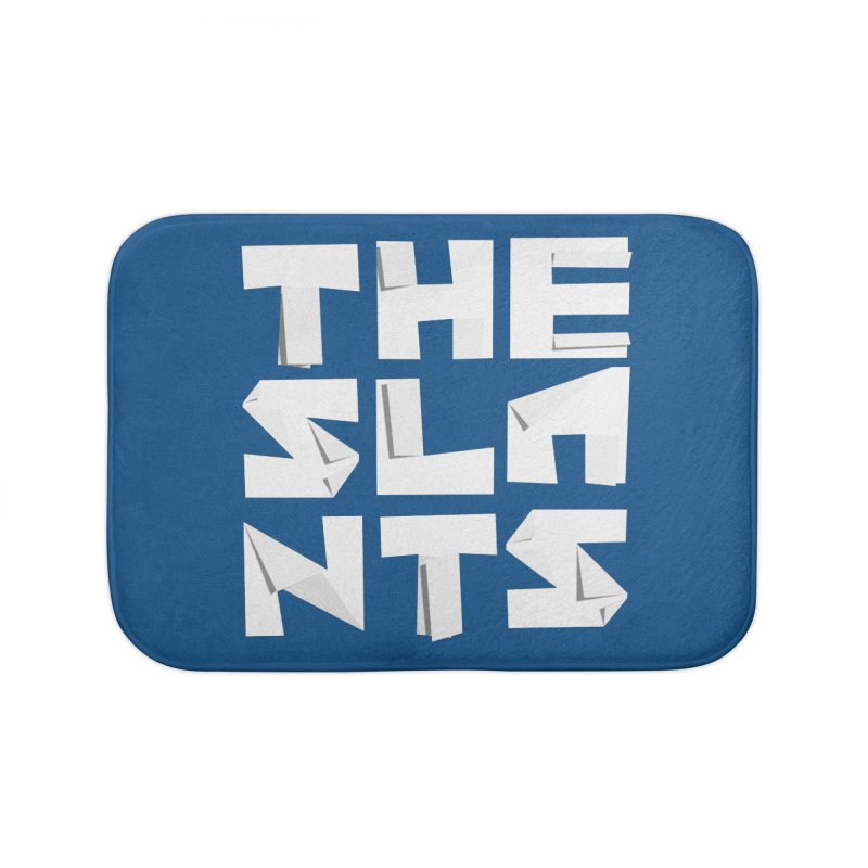 Origami Letters Home Bath Mat by The Slants