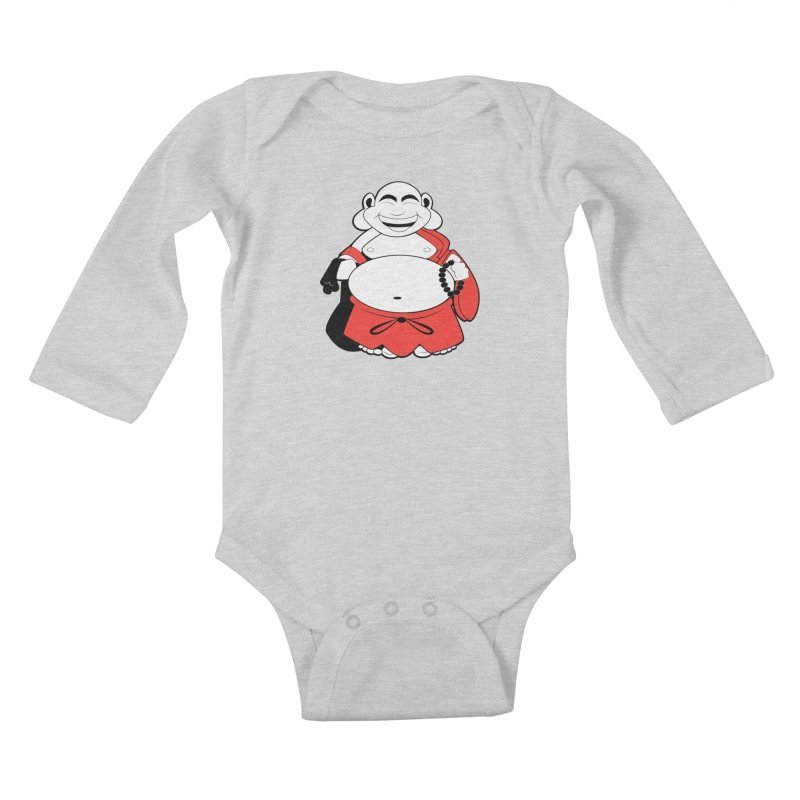 Blessed Kids Baby Longsleeve Bodysuit by Slugamo's Threads
