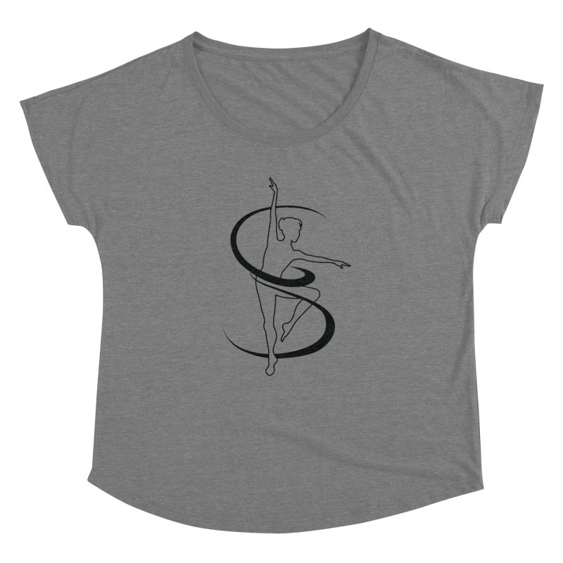Simple Logo Shirts & Accessories Women's Scoop Neck by The Space's Apparel & More