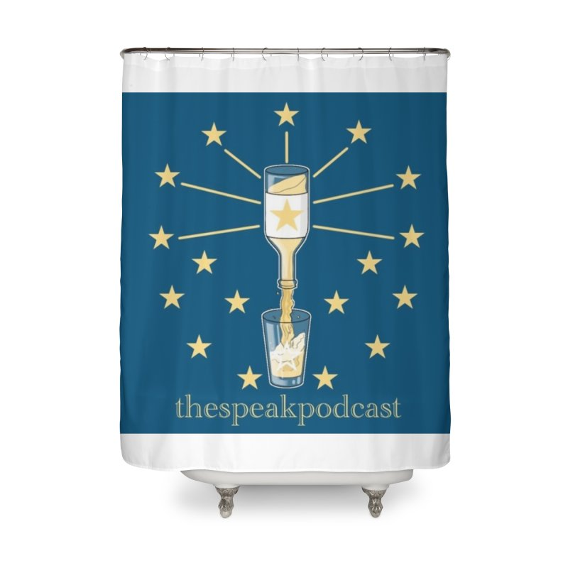 Home and Accessory Items Home Shower Curtain by thespeakpodcast's page o' merch