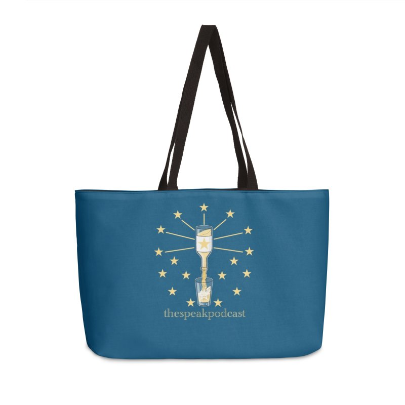 Home and Accessory Items Accessories Weekender Bag Bag by thespeakpodcast's page o' merch