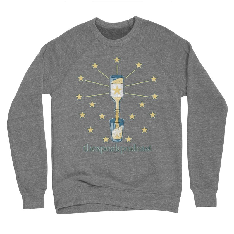 Clothing and Apparel Men's Sponge Fleece Sweatshirt by thespeakpodcast's page o' merch