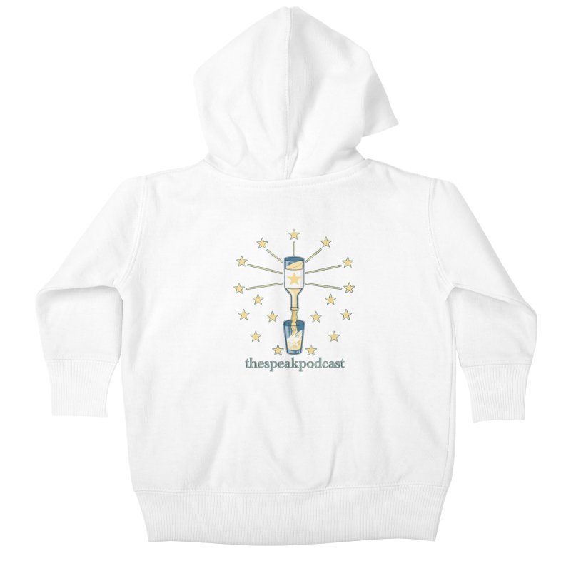 Clothing and Apparel Kids Baby Zip-Up Hoody by thespeakpodcast's page o' merch
