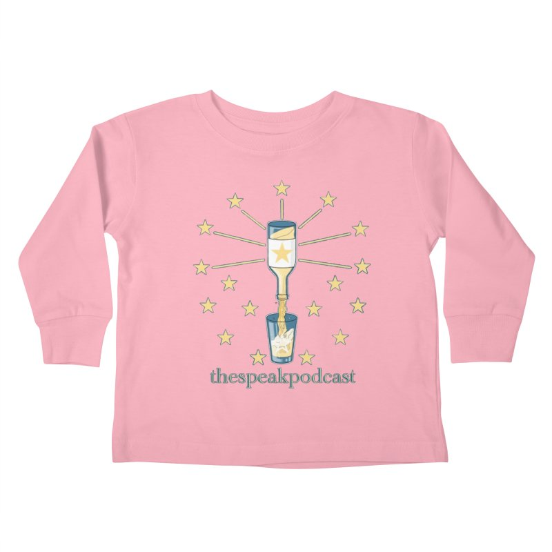 Clothing and Apparel Kids Toddler Longsleeve T-Shirt by thespeakpodcast's page o' merch