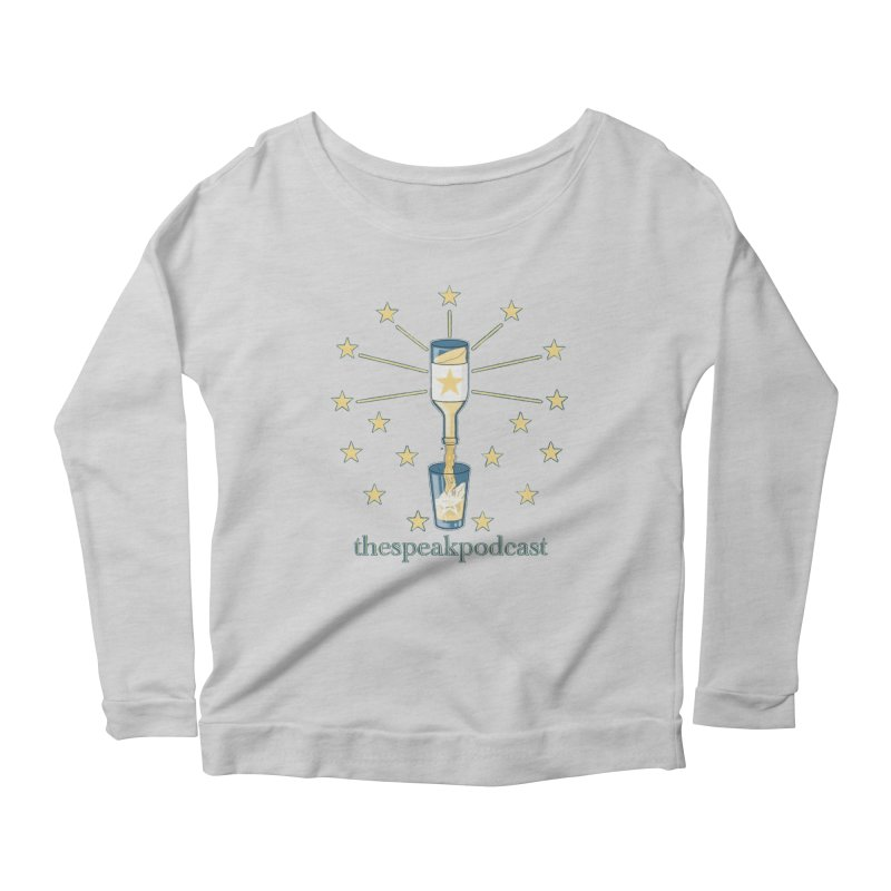 Clothing and Apparel Women's Scoop Neck Longsleeve T-Shirt by thespeakpodcast's page o' merch