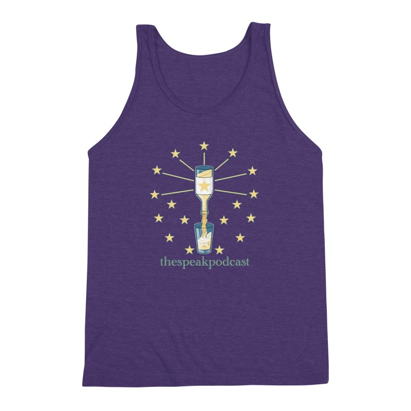 Clothing and Apparel Men's Triblend Tank by thespeakpodcast's page o' merch